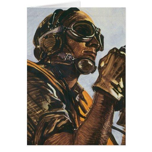 WWII Gunner Card