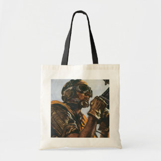 WWII Gunner Tote Bag
