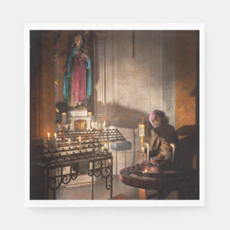 WWII - I'll pray for you 1944 Napkin