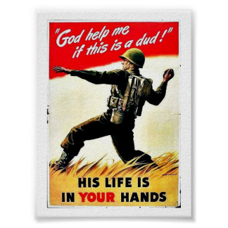 Wwii In Your Hands Posters