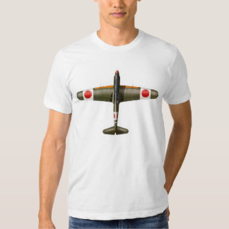 WWII Japanese Fighter Zero Plane A6M type0 零式艦上戦闘機 Tee Shirt