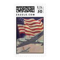 WWII Keep them Flying Postage
