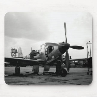 WWII Kingcobra Fighter Aircraft Mouse Pads