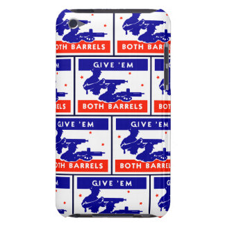 WWII les dan ambos barriles Case-Mate iPod Touch Carcasa
