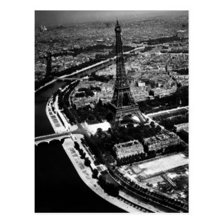 WWII Liberated Paris Postcard