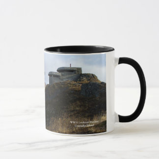 WWII Lookout Bunker on Bunker Hill Mug