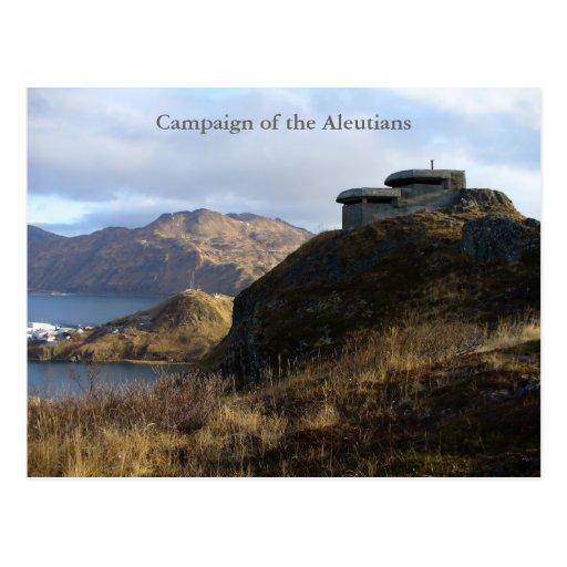 WWII Lookout Bunker, Unalaska Island Postcards