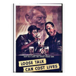 Wwii Loose Talk5 Personalized Flyer