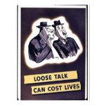Wwii Loose Talk6 Flyer Design