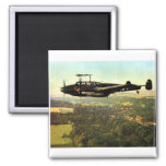 WWII Low Flying German ME-110 Magnets