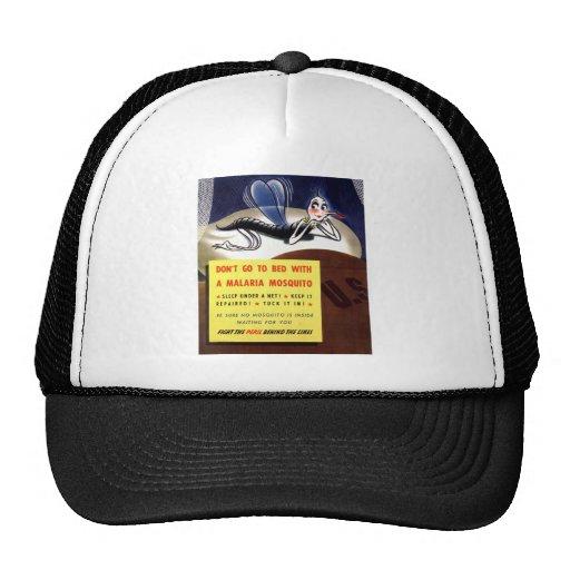 WWII Malaria Mosquito Trucker Hat