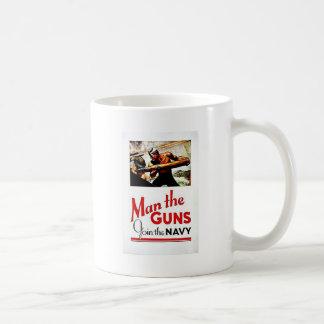 Wwii Man The Guns Coffee Mug