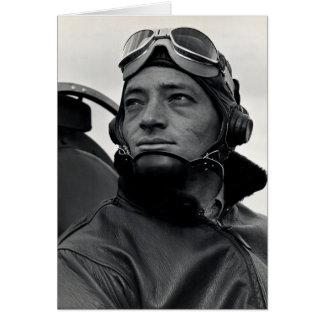 WWII Marine Corps Ace Major John Smith Card