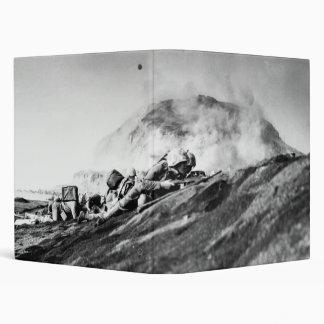 WWII Marines on Iwo Jima Beachhead Binder