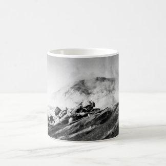 WWII Marines on Iwo Jima Beachhead Coffee Mug