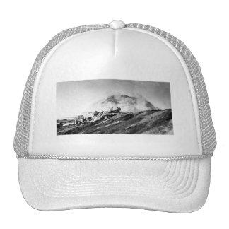 WWII Marines on Iwo Jima Beachhead Hats