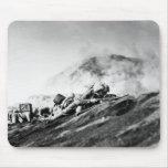 WWII Marines on Iwo Jima Beachhead Mousepad