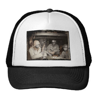WWII Medics Waiting Mesh Hats