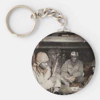 WWII Medics Waiting Key Chains