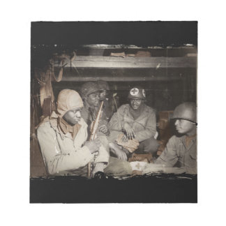 WWII Medics Waiting Notepad