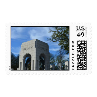 WWII Memorial Atlantic States Stamp
