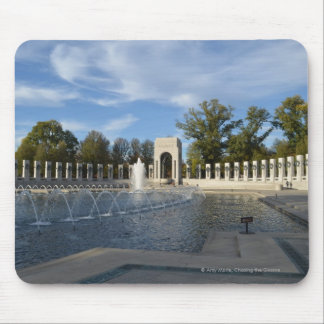 WWII Memorial Fountain. Atlantic Side Mouse Pads
