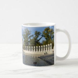 WWII Memorial Fountain. Atlantic Side Coffee Mugs