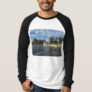 WWII Memorial Fountain. Atlantic Side T-shirts