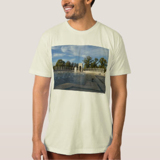 WWII Memorial Fountain. Atlantic Side Tee Shirts