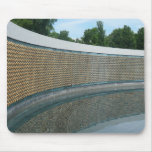 WWII Memorial Freedom Wall in Washington DC Mouse Pad