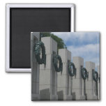 WWII Memorial Wreaths I in Washington DC Magnet