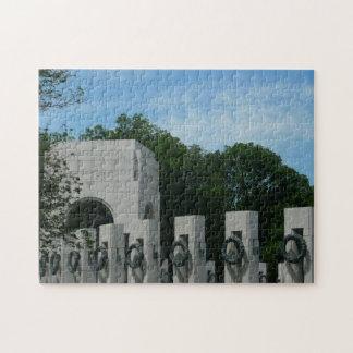 WWII Memorial Wreaths II in Washington DC Jigsaw Puzzle