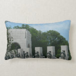 WWII Memorial Wreaths II in Washington DC Lumbar Pillow