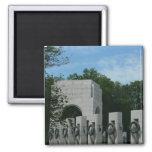 WWII Memorial Wreaths II in Washington DC Magnet