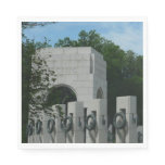 WWII Memorial Wreaths II in Washington DC Napkin