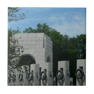 WWII Memorial Wreaths II in Washington DC Tile