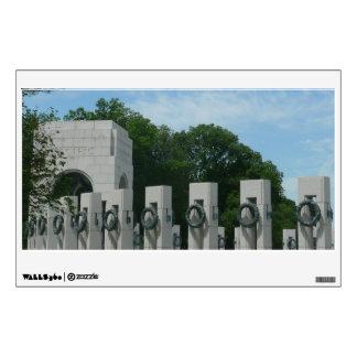 WWII Memorial Wreaths II in Washington DC Wall Decal