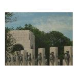 WWII Memorial Wreaths II in Washington DC Wood Wall Art