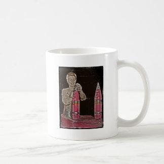 WWII Mom Making a Bomb Coffee Mug