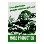 WWII -- More Production Poster
