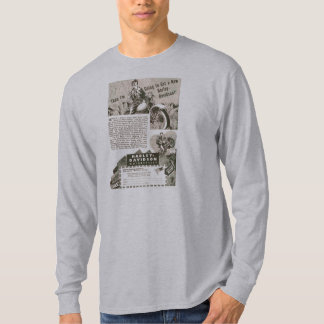 WWII motorcycle Advertising 1 T-Shirt
