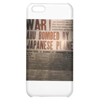WWII Newspaper iPhone 5C Case