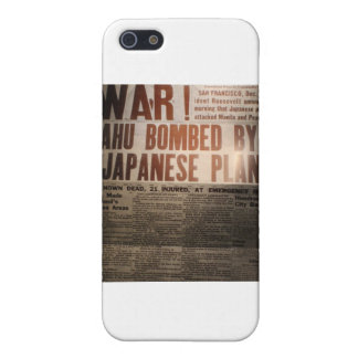 WWII Newspaper iPhone SE/5/5s Cover