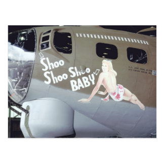 WWII Nose Art Postcard