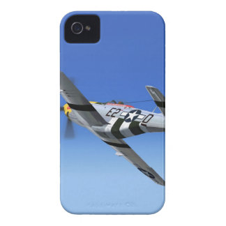 WWII P51 Mustang Fighter Plane Case-Mate iPhone 4 Case