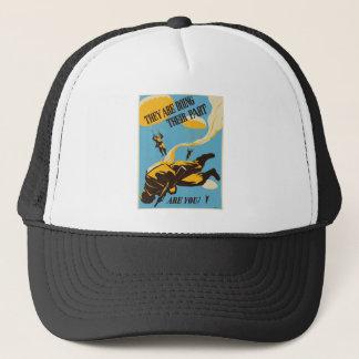 WWII Paratrooper Trucker Hat