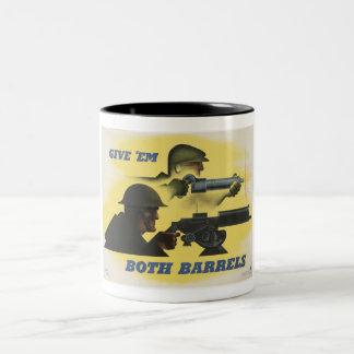 WWII Patriotic Poster Coffee Mug