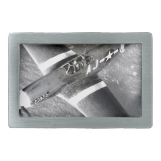 WWII PHotographes Rectangular Belt Buckles