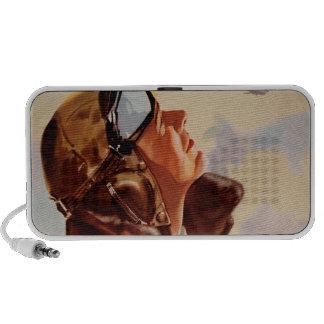 WWII Pilot 2 Portable Speaker