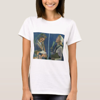 WWII pilot and nurse long distance romance T-Shirt